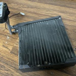 радиатор печки на Ноут